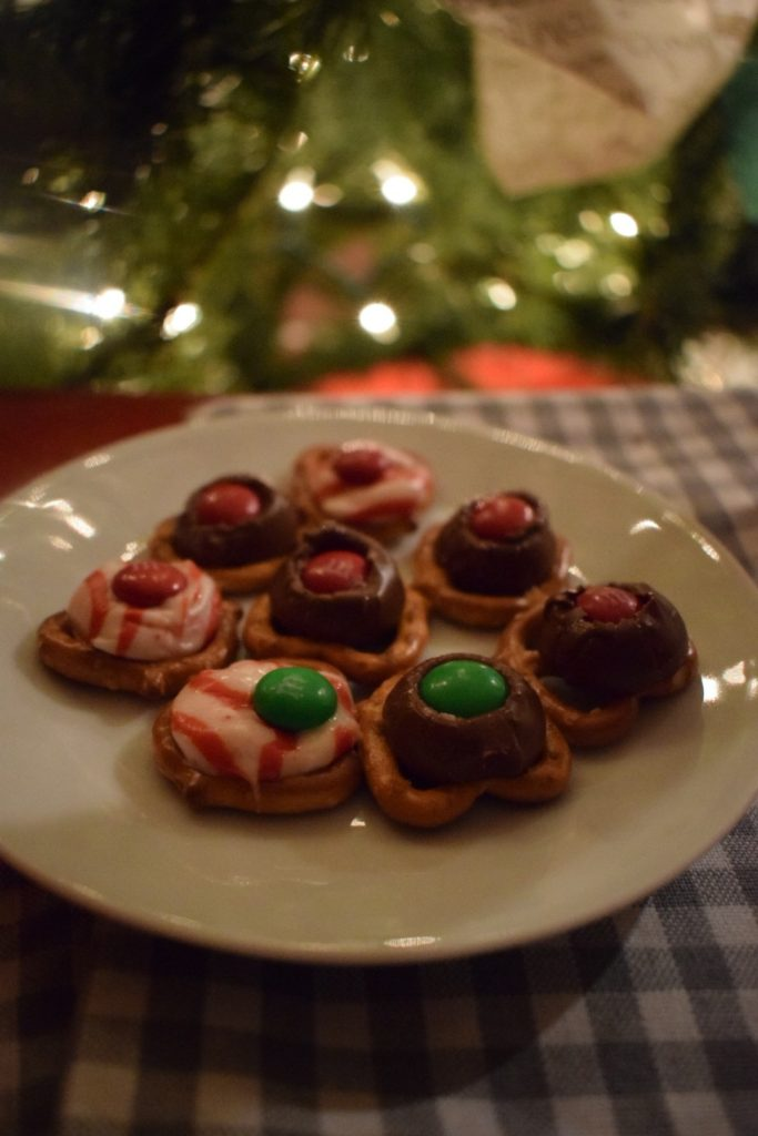 Festive Pretzel Candy Melts