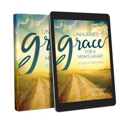 Unhurried Grace- a Fantastic New Devotional for Moms {and a giveaway!!}