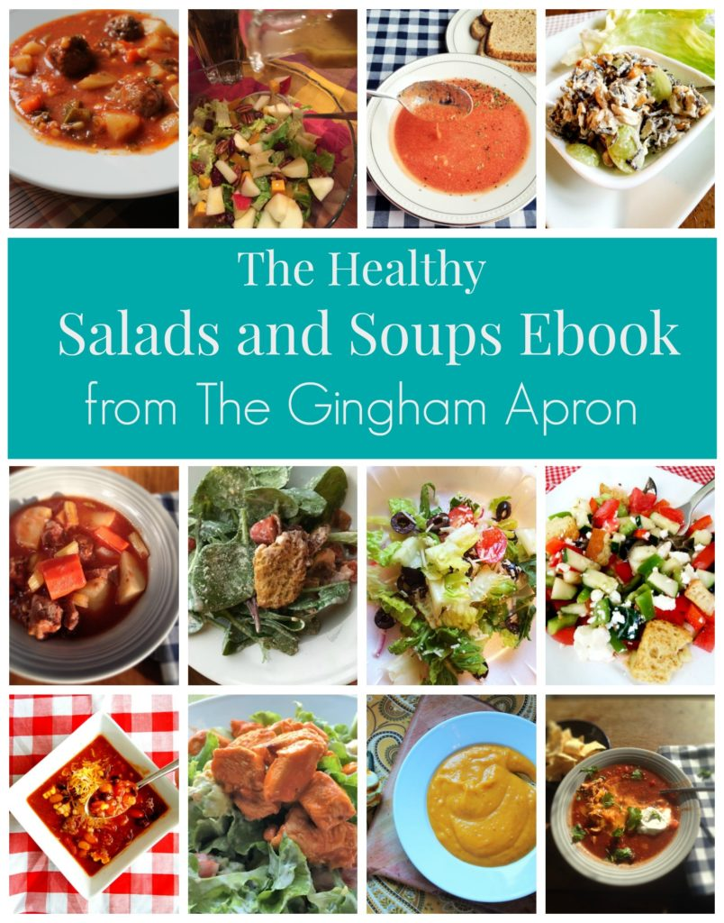 Healthy Salads and Soups ebook
