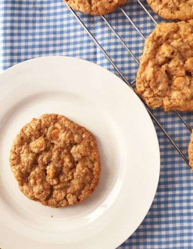 Perfect Oatmeal Butterscotch Cookies The Gingham Apron