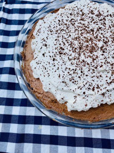 Sugar Free French Silk Pie